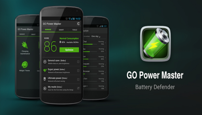 Мобильная программа предназначенная специально для экономии заряда батареи смартфона.