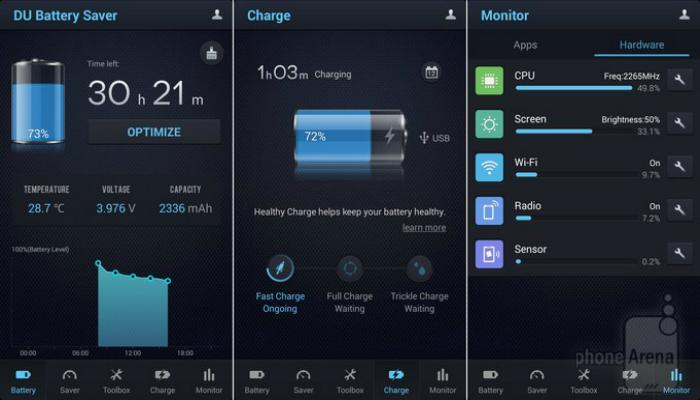Функциональное приложение, которое способно при необходимости максимально экономить энергию батареи смартфона.