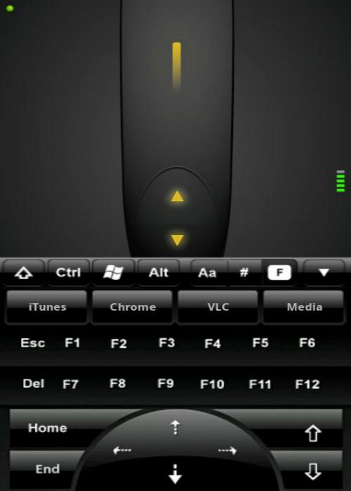 Функциональное мобильное приложение, которое может полностью заменить компьютерную мышь и клавиатуру.