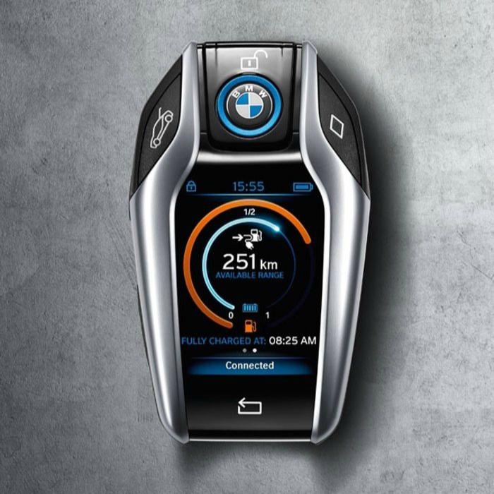 Уникальный ключ-брелок для BMW i8