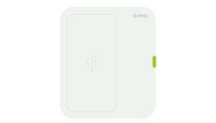 Функциональная беспроводная зарядка для телефона под названием - ZENS Single Wireless Charger.