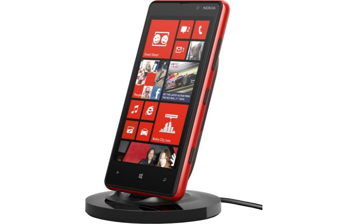 Необычная беспроводная зарядка для смартфона под названием - Nokia DT-910.