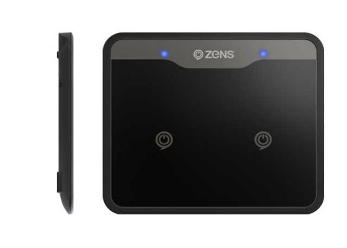 Многофункциональная беспроводная зарядка для телефона под названием - ZENS Dual Wireless Charger.