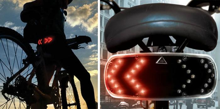 Велогаджет для безопасной езды от компании Buztronics.