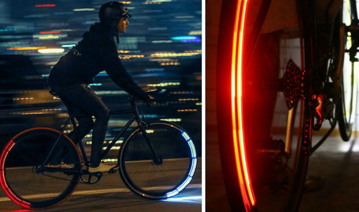 Оригинальный тюнинг велосипеда.