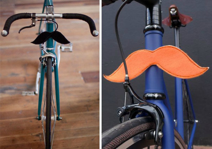 Стильное дополнение для каждого велосипеда.