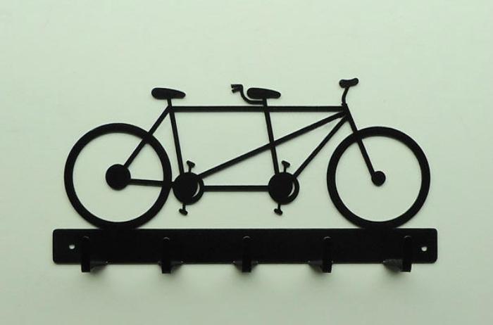 Вешалка «Велосипедист».