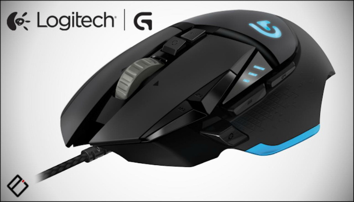 Настраиваемая многофункциональная игровая мышка от компании производителя Logitech.