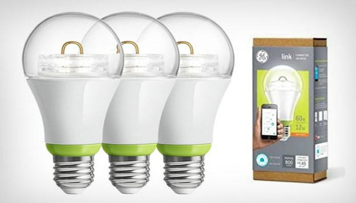 Умная светодиодная лампа от компании производителя General Electric.