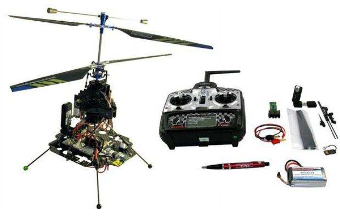 Многофункциональный дрон под названием - Skybotix CoaX Autonomous UAV.