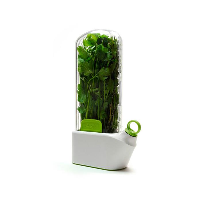 Емкость для долговременного хранения зелени под названием - Herb Savor by Prepara.