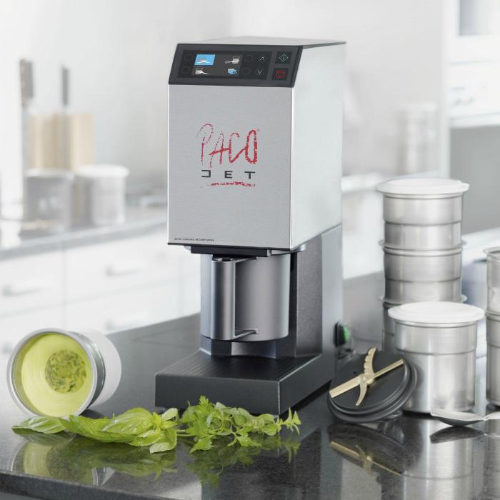 Многофункциональная кухонная машина под названием - Pacojet.