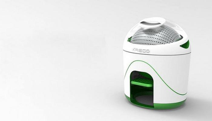 Портативная стиральная машинка.