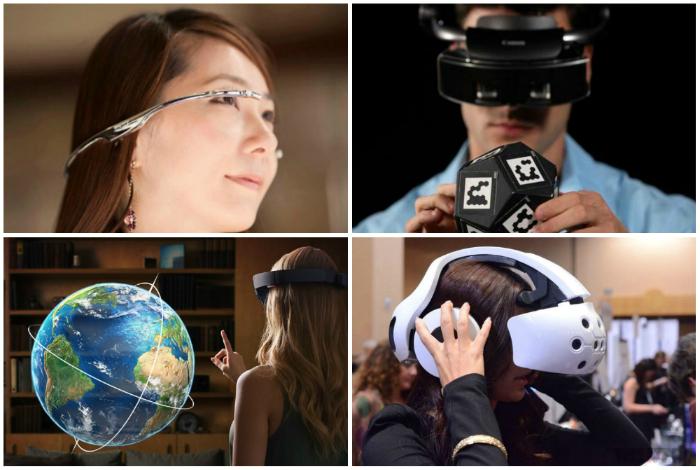 Устройства для виртуальных путешествий.