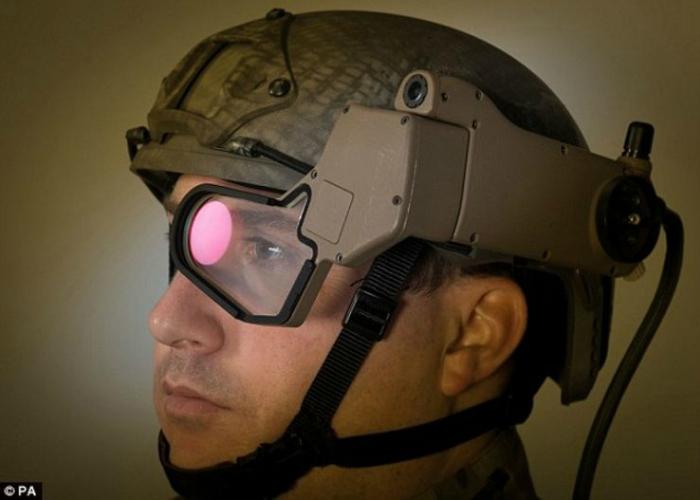 В основе используется прозрачный Q-Sight-дисплей, который уже применялся в других проектах компании и позволяет получить цветное 3D-изображение.