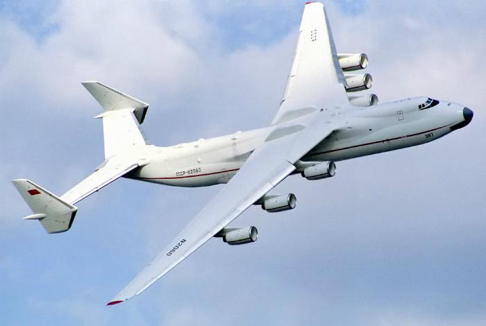 Самый большой в мире тяжелый самолет под названием - Ан-225 «Мрия».