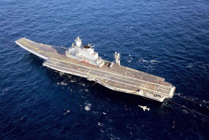 Индийский авианесущий крейсер Викрамадитья (Кречет).