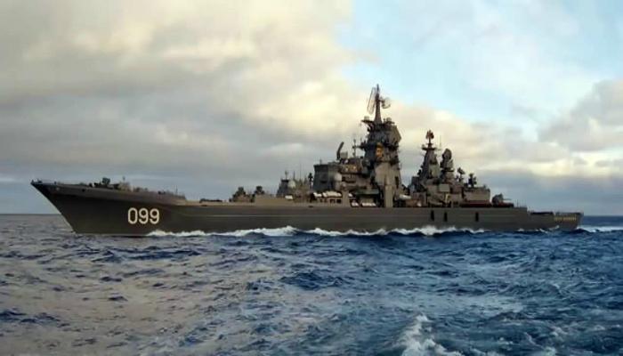 Российский крейсер Орлан