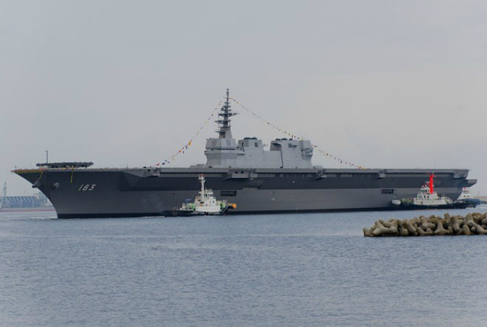 Самые большие военные корабли.