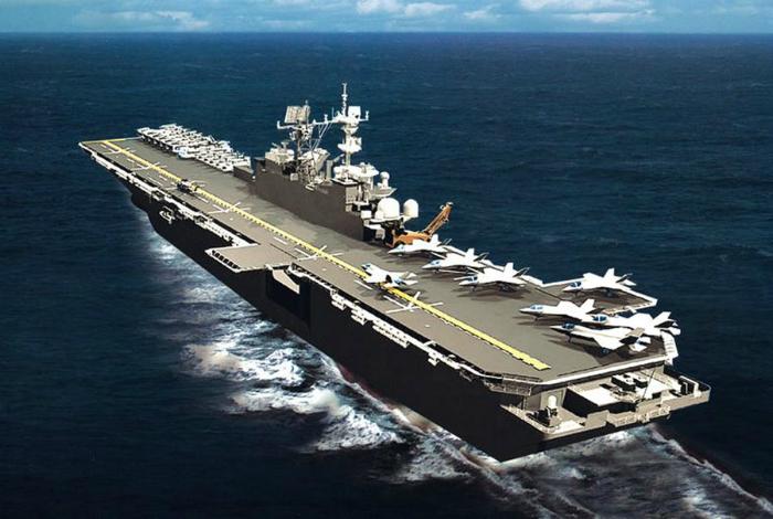 Десантный корабль типа Америка.