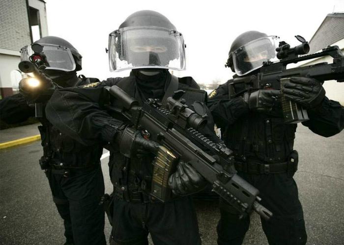 SAS - отряд специального назначения Великобритании.