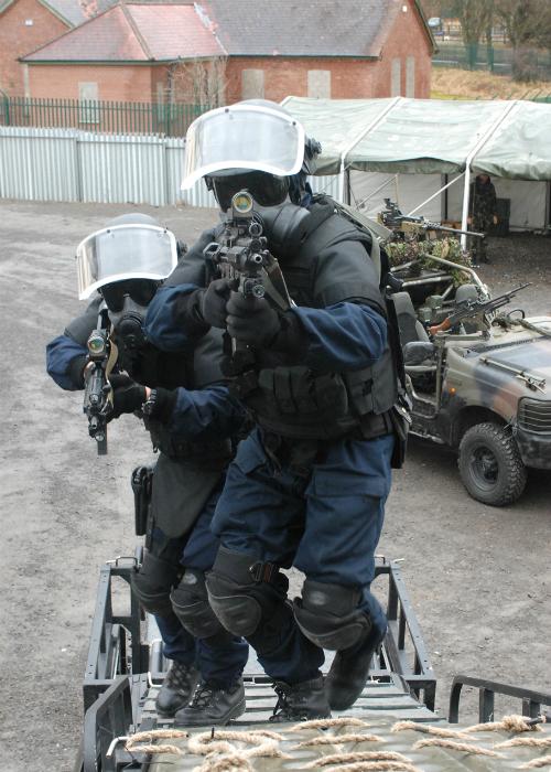 Ирландский отряд специального назначения.