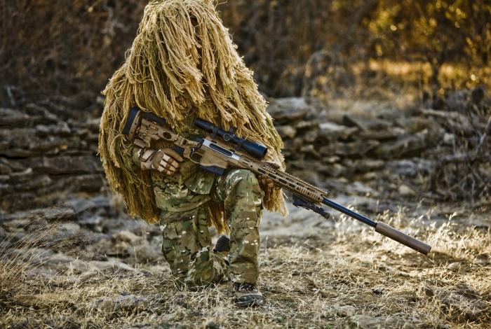 Отлично обученные снайпера иракского спецназа.