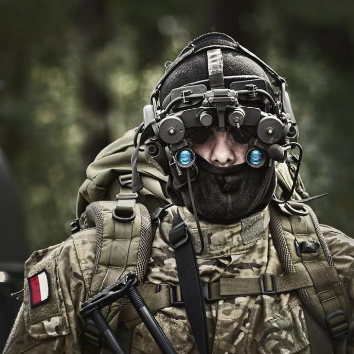 Польский армейский отряд специального назначения.