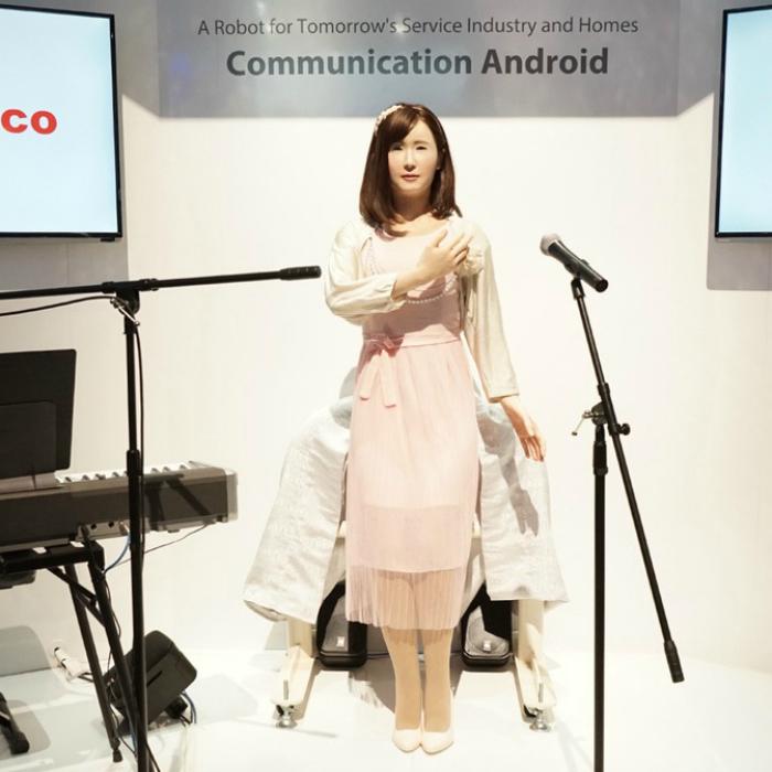 Человекоподобный робот под названием - ChihiraAico.