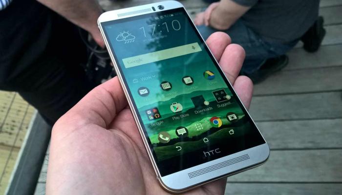 Функциональный смартфон под названием - HTC One M9.