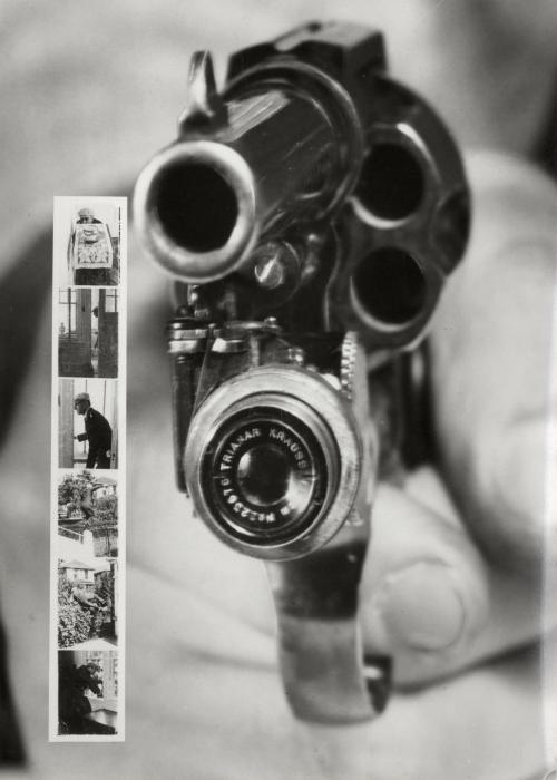 Многофункциональный фотоаппарат-револьвер.