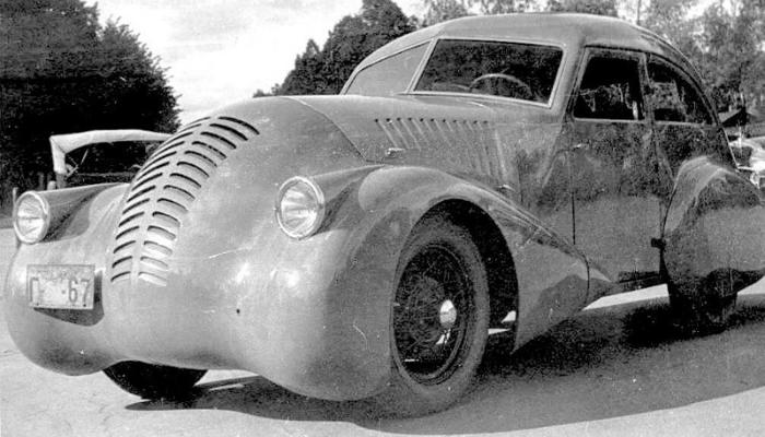 ГАЗ-А-Аэро – это концепт первого советского спорткара, сконструированного изобретателем Алексеем Никитиным в 1934 году.