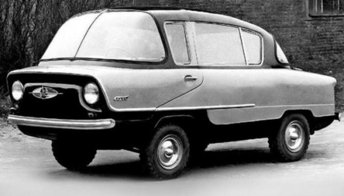 ИМЗ-НАМИ А50 «Белка» - это экспериментальная малогабаритная модель автомобиля, созданная в 1955 году инженерами НАМИ совместно с ИМЗ.