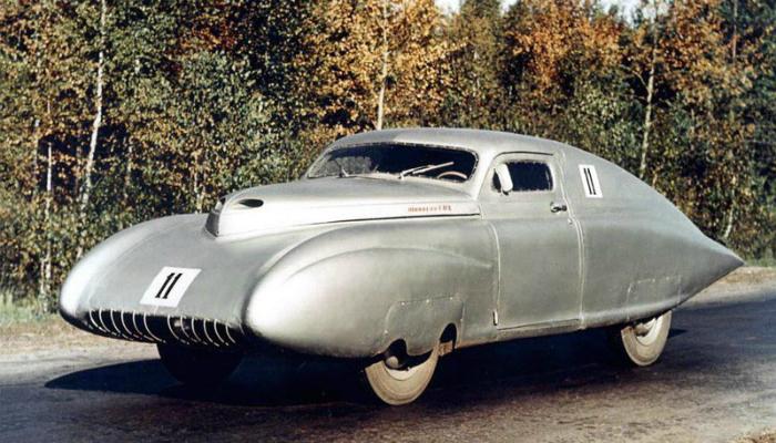 Самые необычные автомобильные концепты СССР.