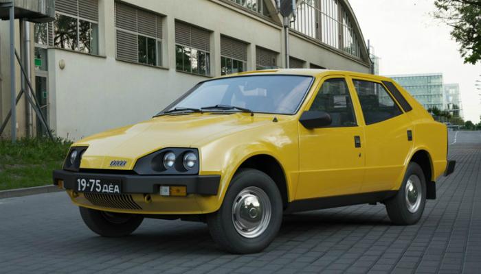 Иж-19 «Старт-Комби» - это проект  советского молодежного автомобиля, изготовленного в 1975 году.