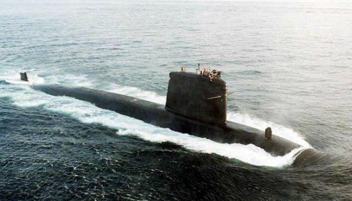 Атомная подводная лодка под названием -  Рубис, Франция.