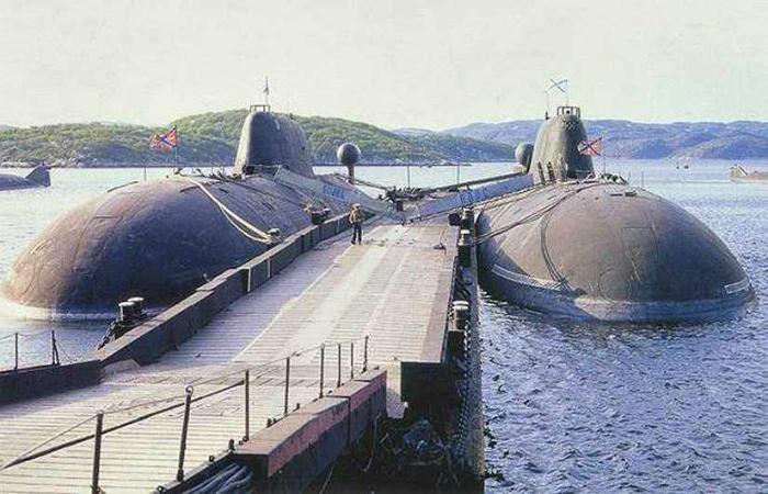 Атомные подводные лодки под названием - Щука-Б.