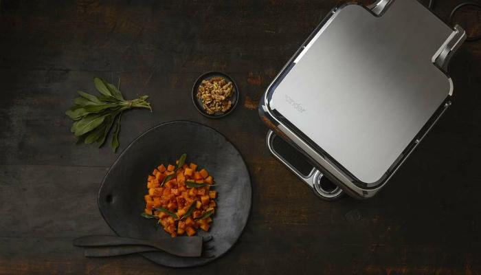 Портативная многофункциональная печь под названием - Cinder Sensing Cooker.