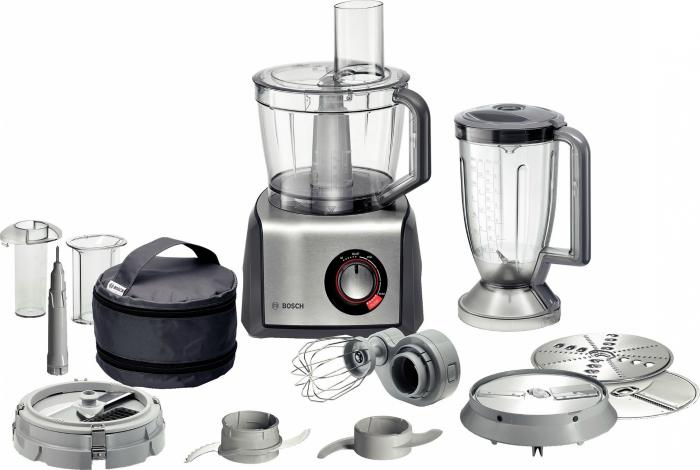 Функциональный, как многие думают, кухонных комбайн под заглавием - Bosch MCM 68885.