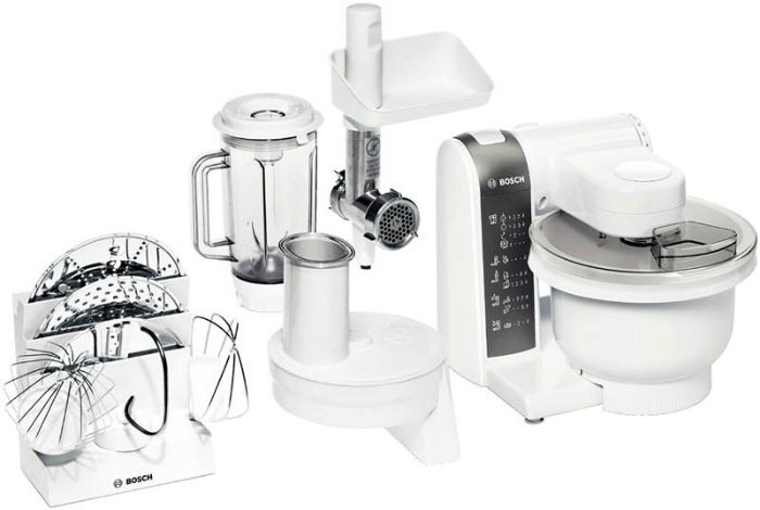 Малогабаритный кухонный комбайн под заглавием - Bosch MUM 4855.