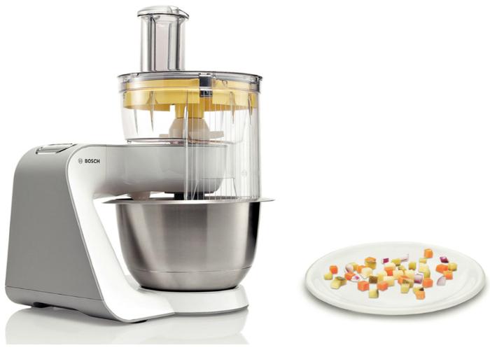 Мощнейший кухонный комбайн под заглавием - Bosch MUM 54251.