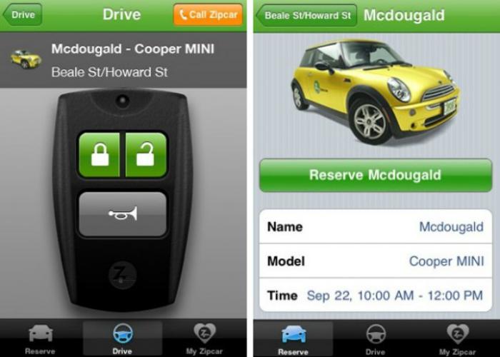 Многофункциональное мобильное приложение, которое позволяет арендовать машину за считанные минуты.