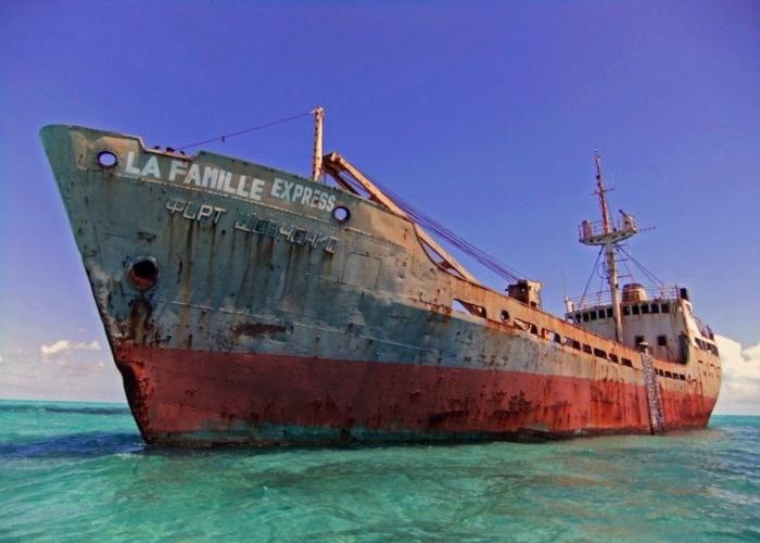 Заброшенные суда потерпевшие кораблекрушения по всему миру.