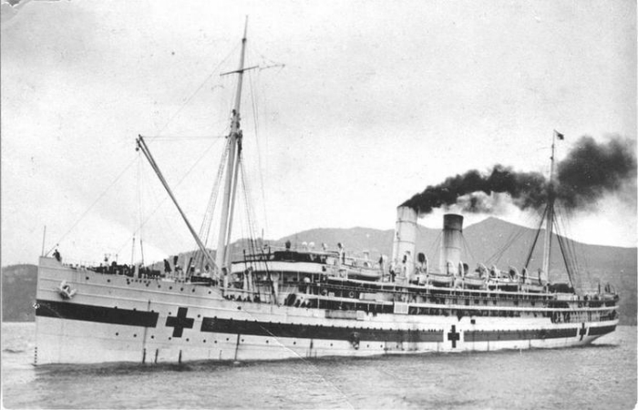 Турбинный пароход названием под - SS Махено.