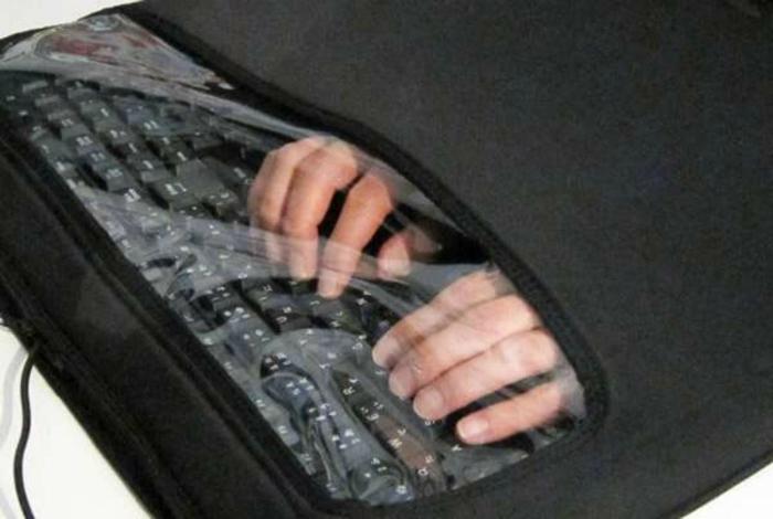 Функциональный глушитель поглощающий звуки клавиатуры.