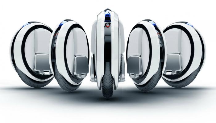 Электрический одноколесный моноцикл  Ninebot One.