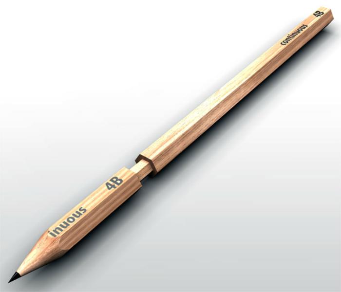 Необычный шпионский карандаш.