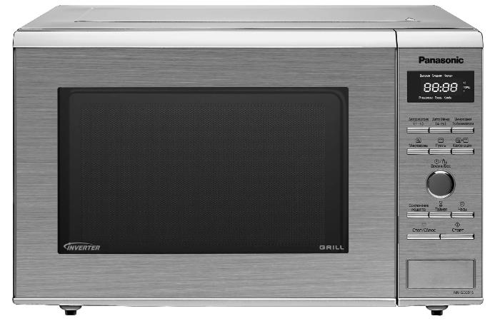 Производительная микроволновая печь под названием - Panasonic NN-SD372S.