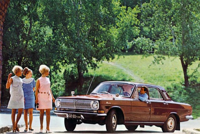 Советский седан среднего класса под названием - ГАЗ-24 «Волга», который изготавливался на Горьковском автомобильном заводе с 1967-го по 1985 год.
