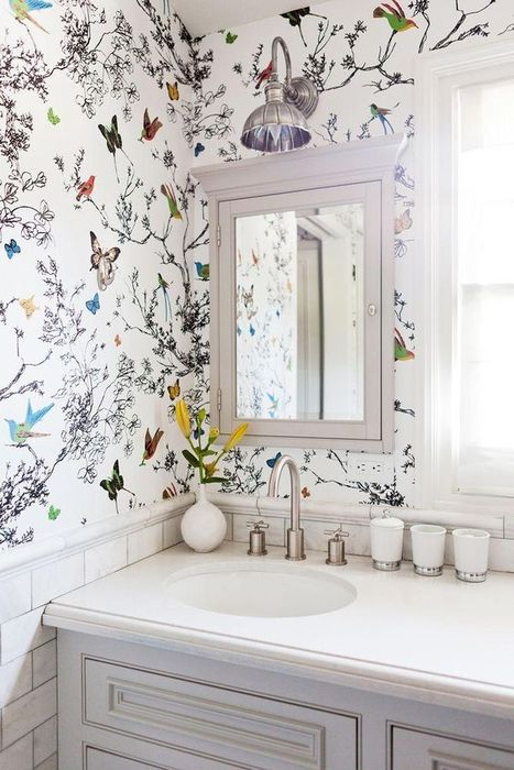 Весеннее обновление интерьера ванной